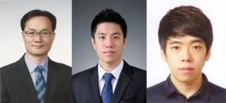 교신저자인 원병묵 성균관대 교수(왼쪽)와 공동 제1저자인 조건 연구원(가운데)와 김진영 연구원 - 성균관대 제공